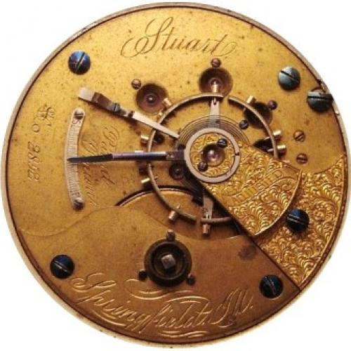Illinois Grade Stuart Pocket Watch Image