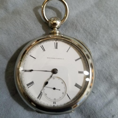 New York Springfield Watch Co. Grade  Pocket Watch Image