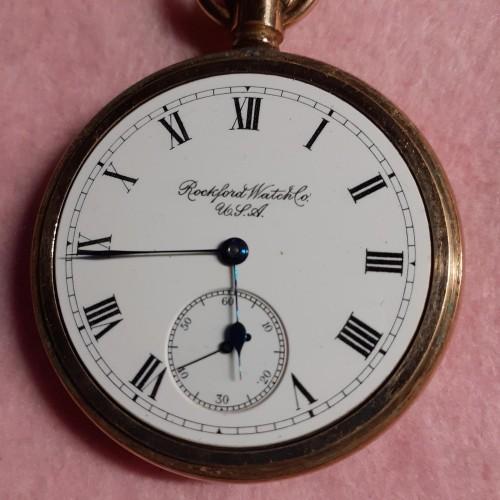 Rockford Grade 615 Pocket Watch Image