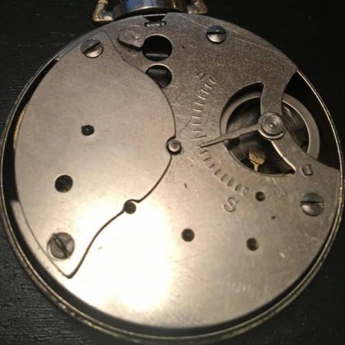 New Haven Clock & Watch Co. Grade  Pocket Watch Image