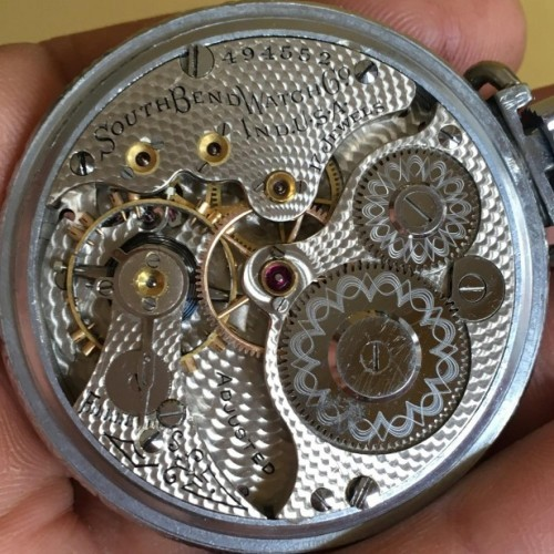South Bend Grade 290 Pocket Watch Image