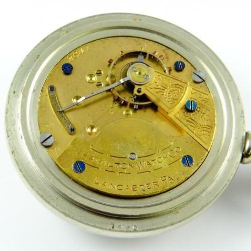 Hamilton Grade 7j Pocket Watch Image
