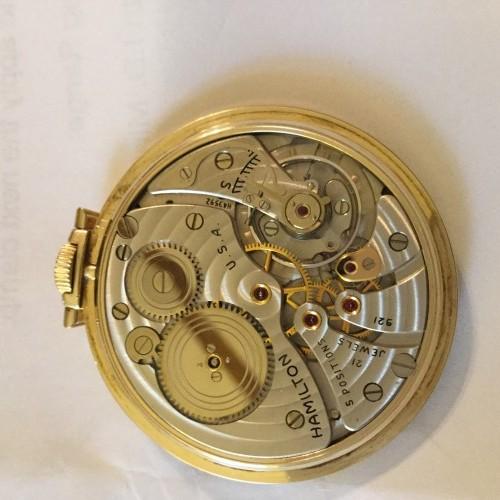 Hamilton Grade 921 Pocket Watch Image