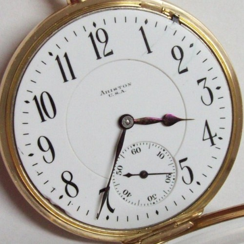 Illinois Grade Sangamo Pocket Watch Image