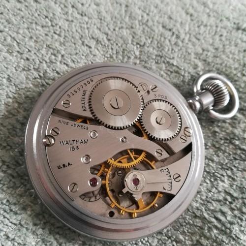Waltham Grade No. 1609 Pocket Watch Image