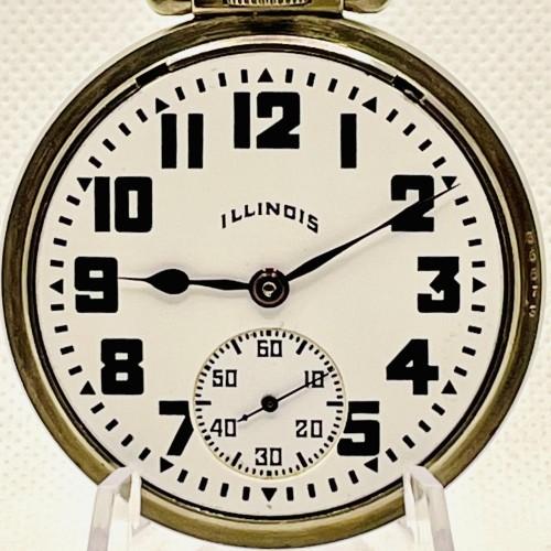 Illinois Grade 169 Pocket Watch Image