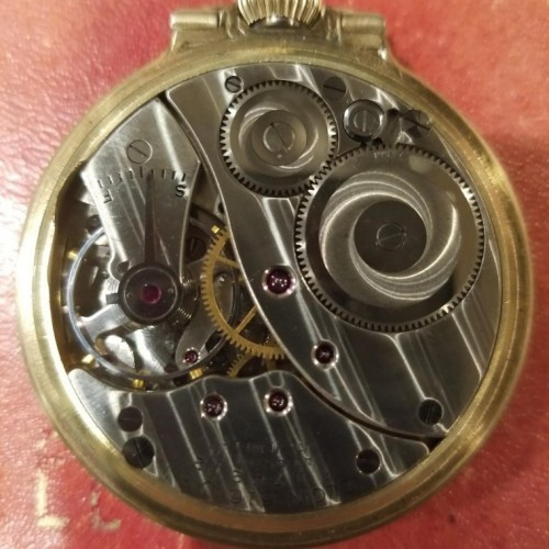 Elgin Grade 616 Pocket Watch Image