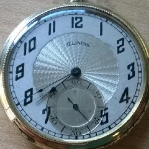 Illinois Grade 228 Pocket Watch Image