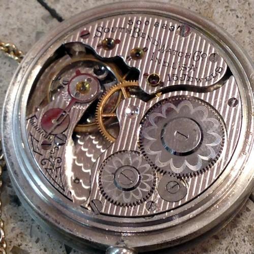 South Bend Grade 281 Pocket Watch Image