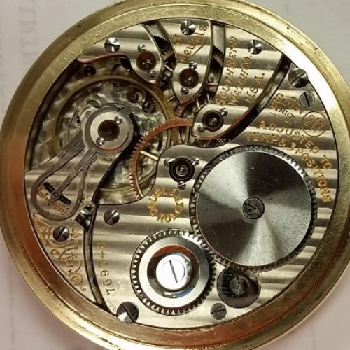 South Bend Grade 217 Pocket Watch Image