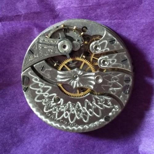 Hampden Grade Molly Stark (History Unknown) Pocket Watch Image
