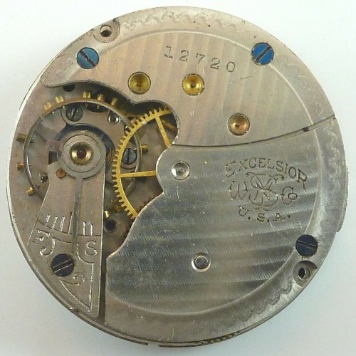 New York Standard Watch Co. Grade Excelsior Pocket Watch Image