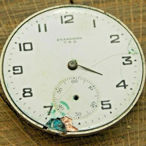 New York Standard Watch Co. Grade 1571 Pocket Watch