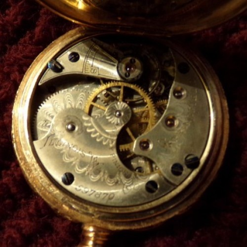 Illinois Grade 132 Pocket Watch Image