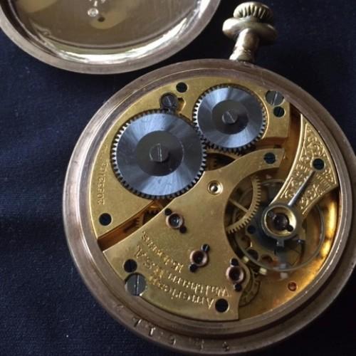 Waltham Grade No. 613 Pocket Watch Image