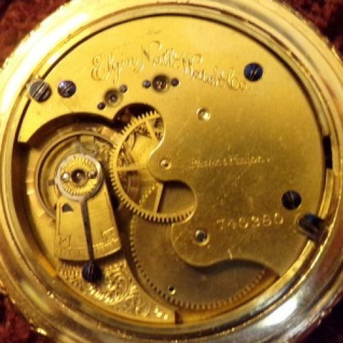 Elgin Grade 65 Pocket Watch Image
