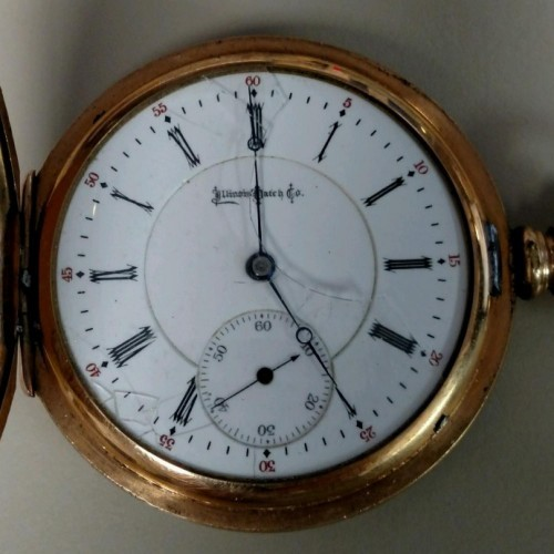 Illinois Grade 179 Pocket Watch Image