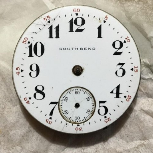 South Bend Grade 330 Pocket Watch Image