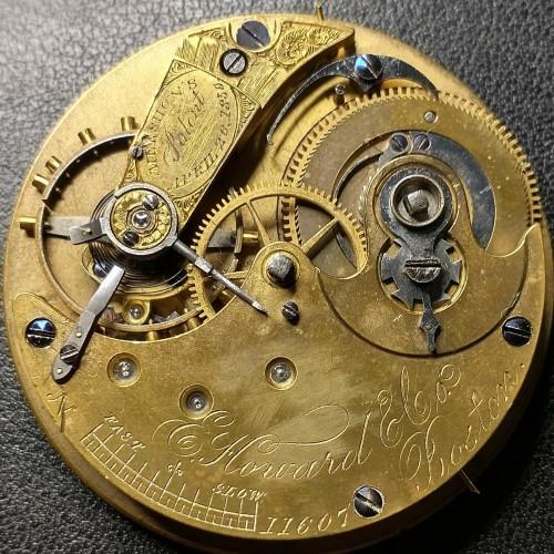 E. Howard & Co. Grade Unknown Pocket Watch Image