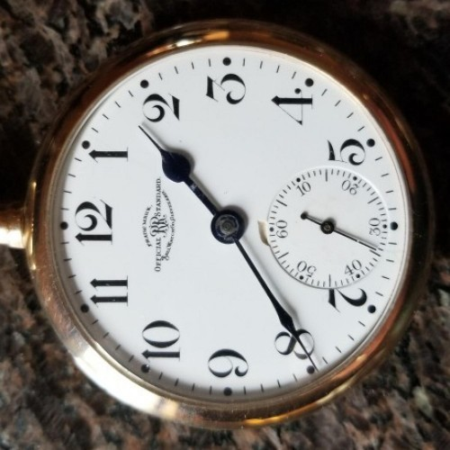 Image of Ball - Waltham Official Standard #B134343 Dial