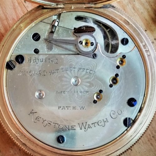 Keystone Standard Watch Co. Grade  Pocket Watch Image
