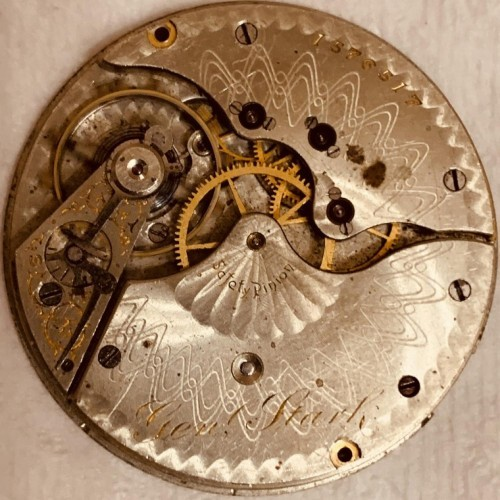 Hampden Grade Gen'l Stark Pocket Watch Image
