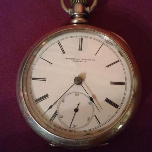 Rockford Grade M1-11J Pocket Watch Image
