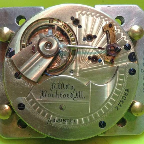 Rockford Grade 77 Pocket Watch Image