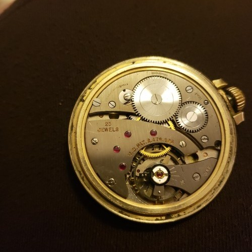 Swiss Waltham Grade  Pocket Watch Image