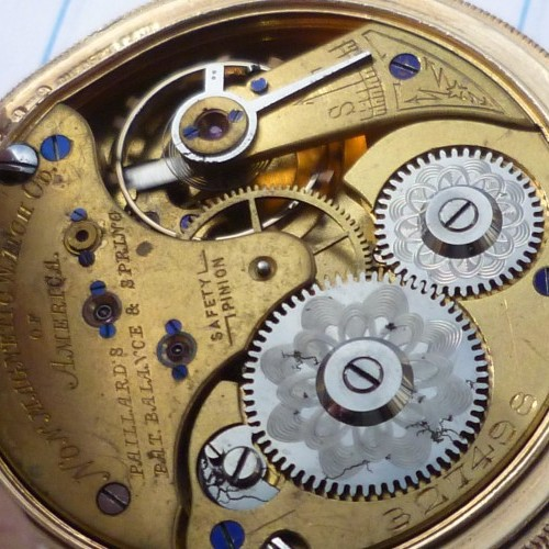 Non-Magnetic Watch Co. Grade  Pocket Watch Image