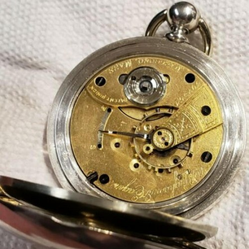 Hampden Grade No. 71 Pocket Watch Image