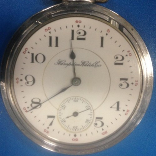Hampden Grade No. 440 Pocket Watch Image