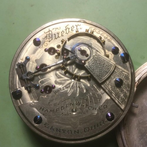 Hampden Grade Dueber Pocket Watch Image