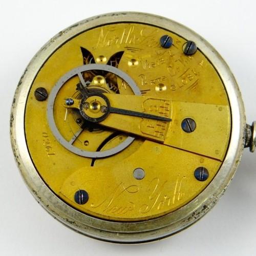 U.S. Watch Co. (Marion, NJ) Grade North Star Pocket Watch Image