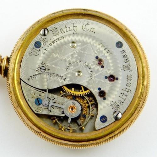U.S. Watch Co. (Waltham, Mass) Grade 142 Pocket Watch Image