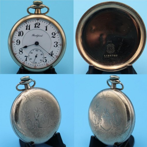 Rockford Grade 675 Pocket Watch Image
