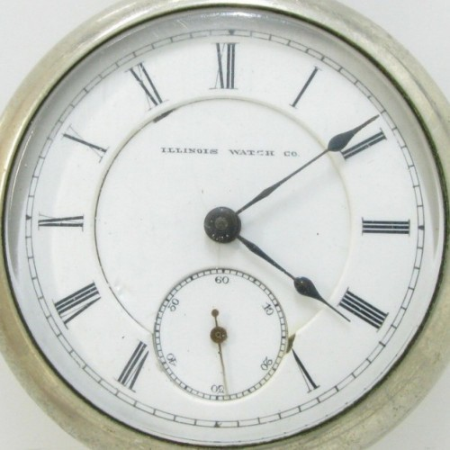 Illinois Grade 100 Pocket Watch Image