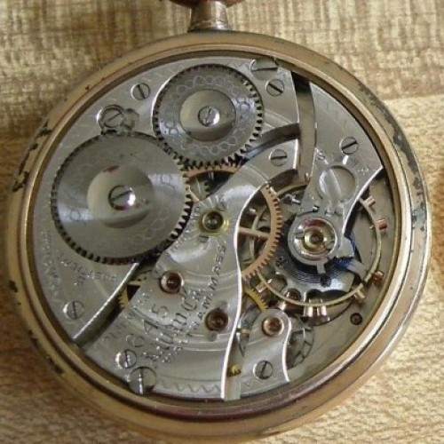 Image of Waltham No. 645 #20040466 Movement