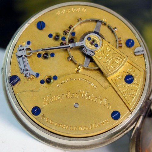 Hampden Grade No. 55 Pocket Watch Image
