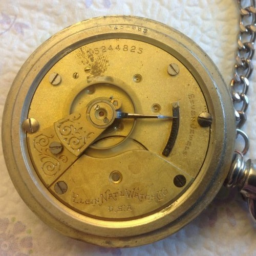 Elgin Grade 309 Pocket Watch Image