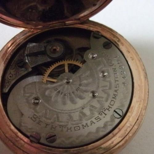 Seth Thomas Grade 35 Pocket Watch Image