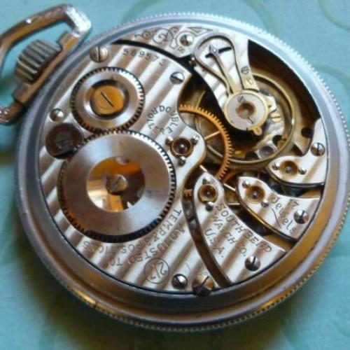 South Bend Grade 217 Pocket Watch Image