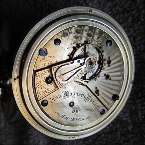 Peoria Watch Co. Grade A. A,  Extra Pocket Watch Image