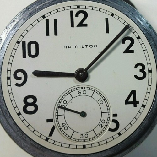 Hamilton Grade 2974B Pocket Watch