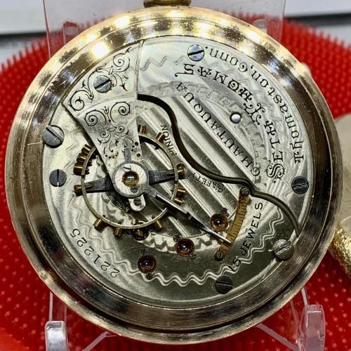 Pocket seth watch parts thomas Seth Thomas