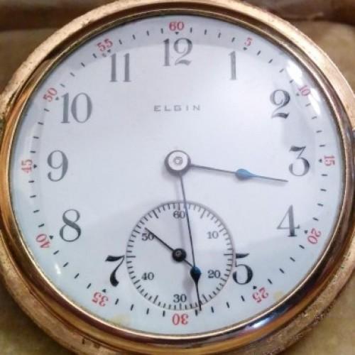 Elgin Grade 272 Pocket Watch Image