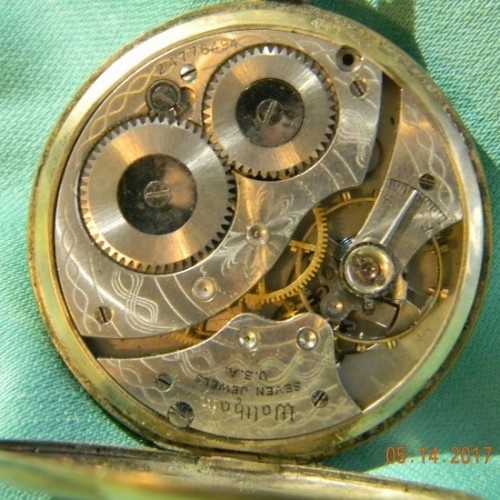 Waltham Grade No. 210 Pocket Watch Image