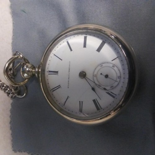Elgin Grade 87 Pocket Watch Image