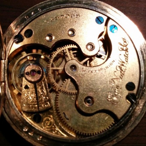 Elgin Grade 117 Pocket Watch Image