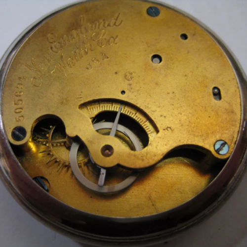 Image of New England Watch Co. G #505694 Movement